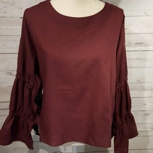 New Very J wine top size M